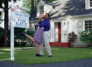 Visualization of us buying a house. If I had a blonde bob, and wore men's dress shoes...